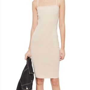 Topshop New Body Con Fitted Mid Length Dress